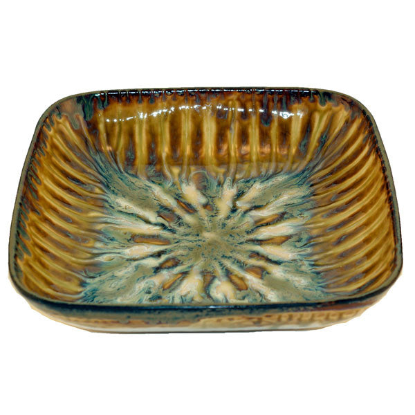 Bluebird Medium Square Serving Bowl - TheMississippiGiftCompany.com