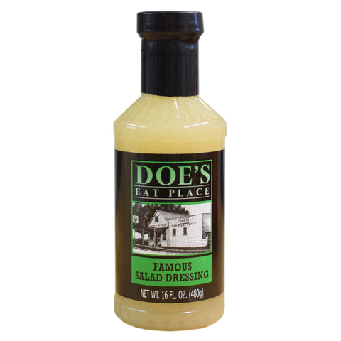 Doe's Eat Place Famous Salad Dressing - TheMississippiGiftCompany.com
