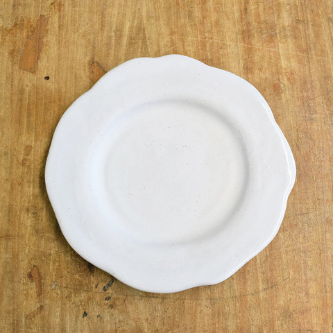 Freeform Salad Plate Simply White
