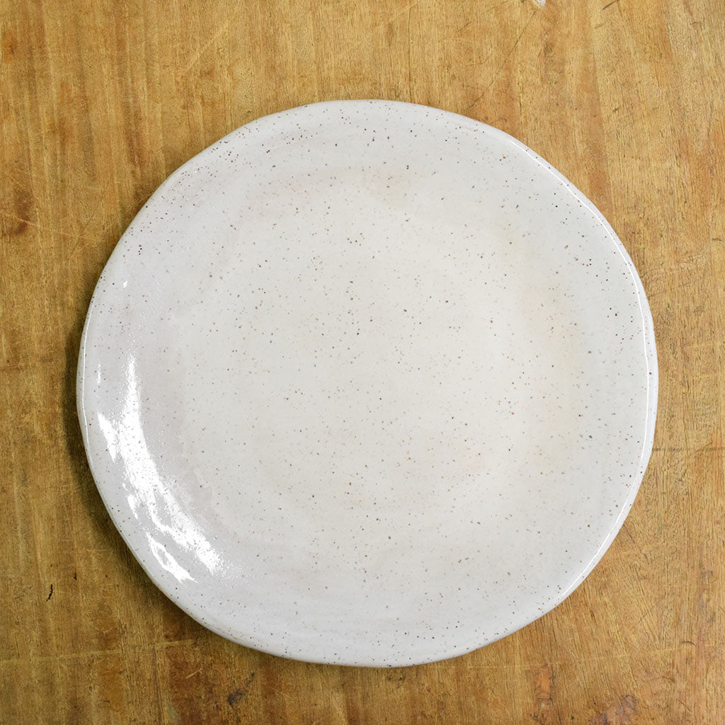 Farmhouse Simply White Salad Plate - TheMississippiGiftCompany.com