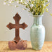 Copper Floating Cross - TheMississippiGiftCompany.com
