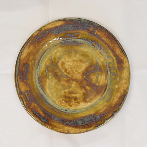 Ginger Dinner Plate - TheMississippiGiftCompany.com