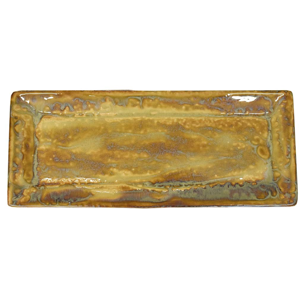 Ginger Rectangle Bread Tray