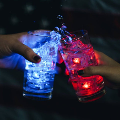 Liquid Activated Light Up Drink Cubes
