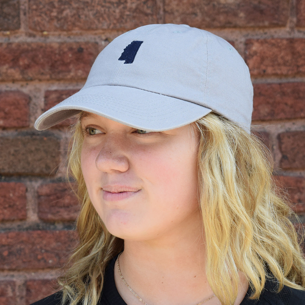Mississippi Gray Hat-Navy