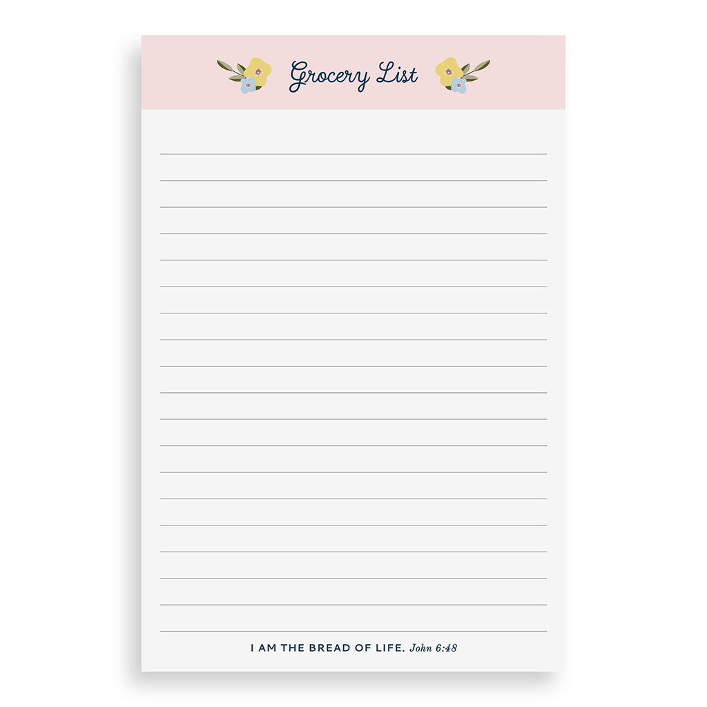 Grocery List Pad - TheMississippiGiftCompany.com