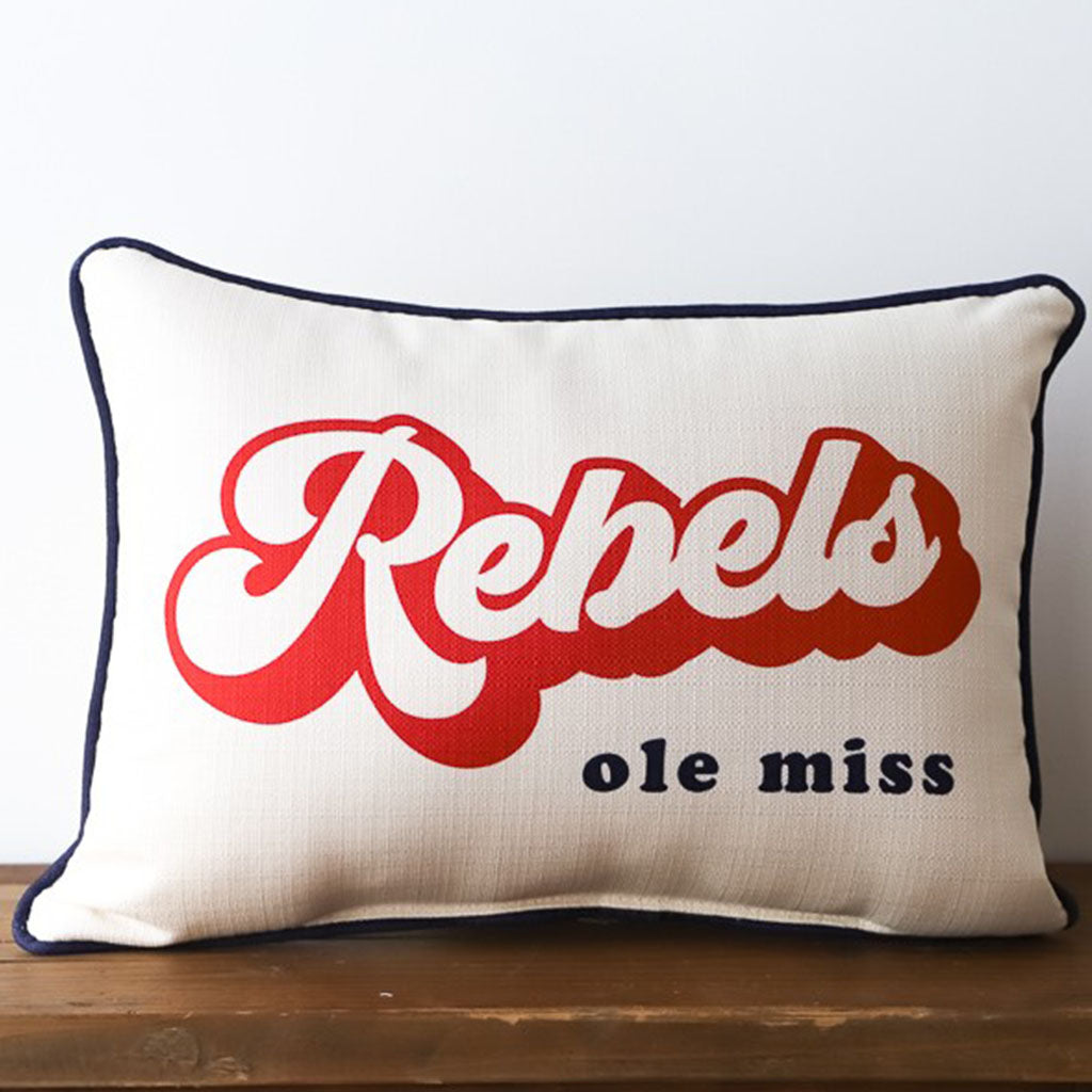Rebels Groovy Rectangle Pillow