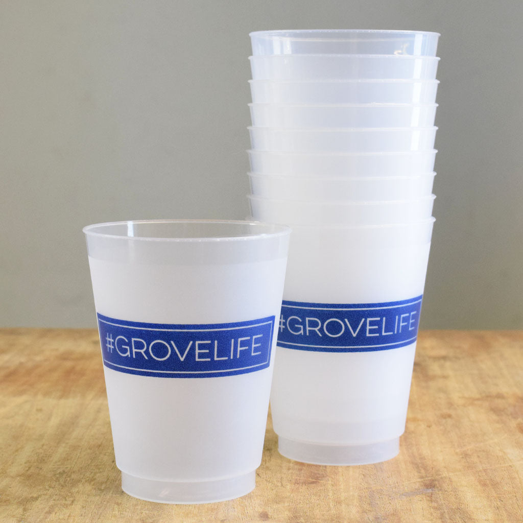 #Grove Life Frosted Cups - TheMississippiGiftCompany.com