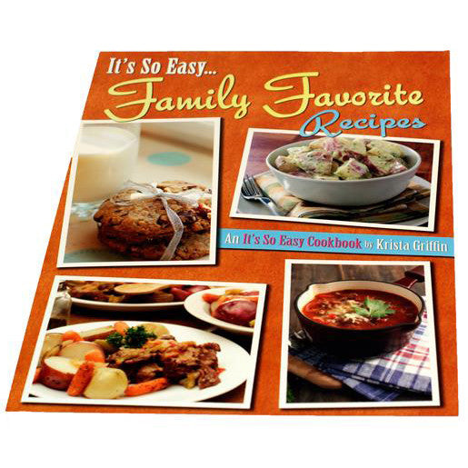 It's So Easy Family Recipes Cookbook - TheMississippiGiftCompany.com