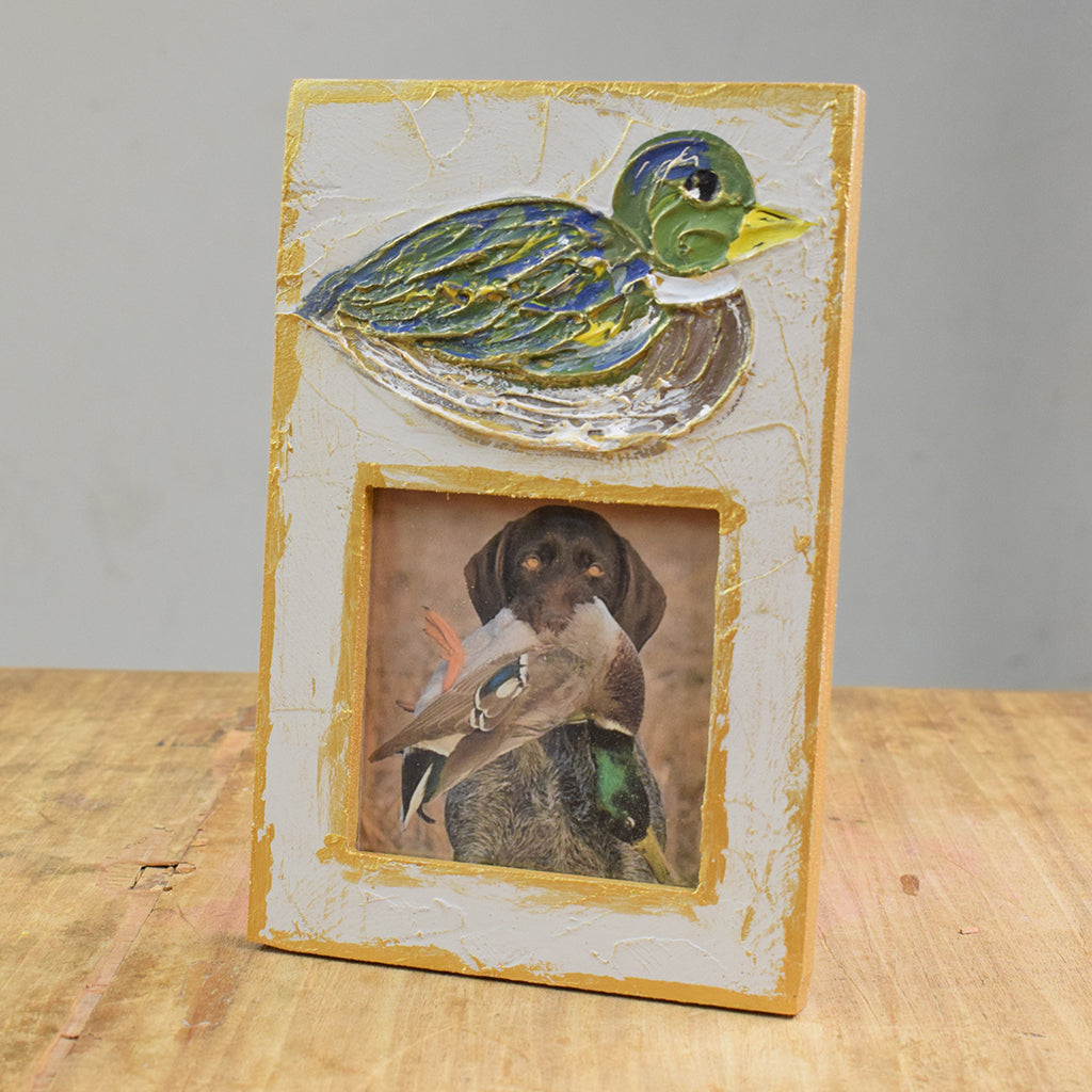4x4 Frame with Mallard - TheMississippiGiftCompany.com