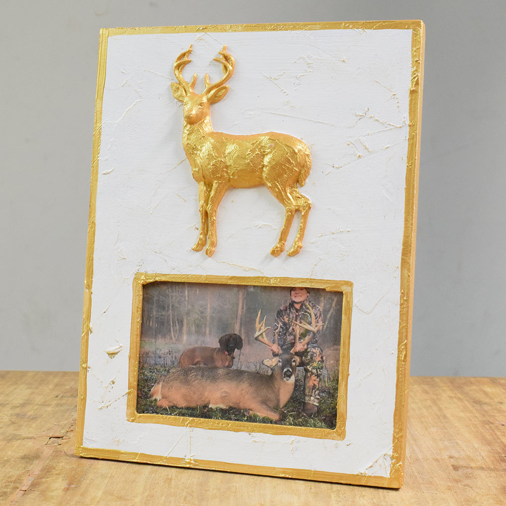 4x6 Frame with Deer - TheMississippiGiftCompany.com