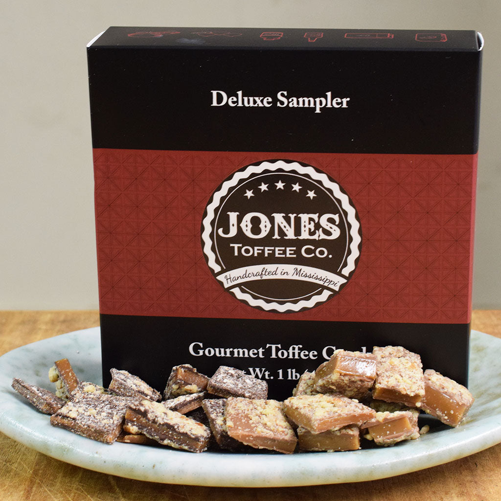 Toffee-Deluxe Sampler - TheMississippiGiftCompany.com