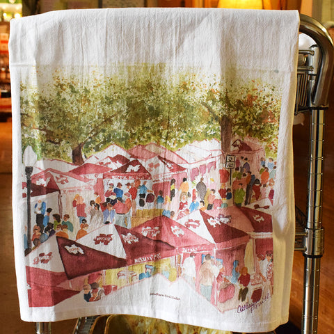 The Junction Flour Sack Kitchen Towel - TheMississippiGiftCompany.com