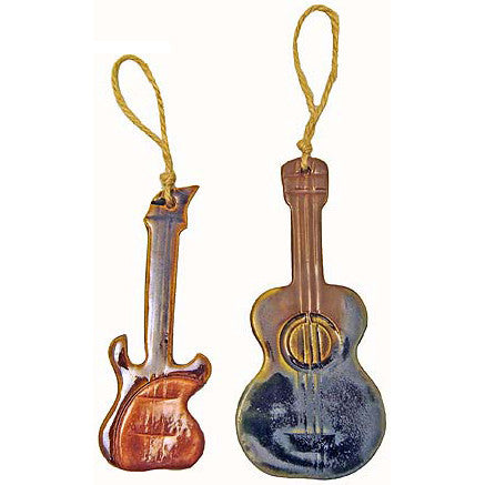 Guitar Ornament - TheMississippiGiftCompany.com