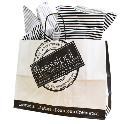 Mississippi Gift Co. Gift Bag Unfilled- Large - TheMississippiGiftCompany.com
