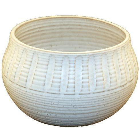 Large Christening Bowl White - TheMississippiGiftCompany.com