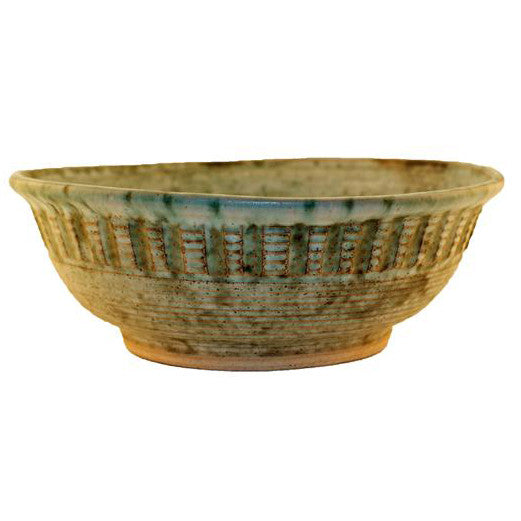 Large Potato Chip Bowl Jade - TheMississippiGiftCompany.com