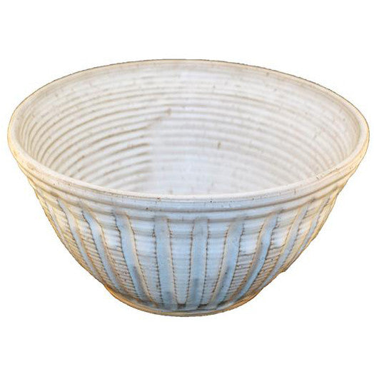 Punch Bowl Large White - TheMississippiGiftCompany.com