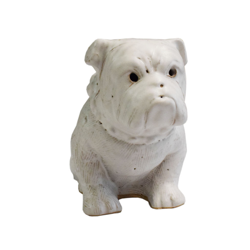 Large Bulldog White - TheMississippiGiftCompany.com