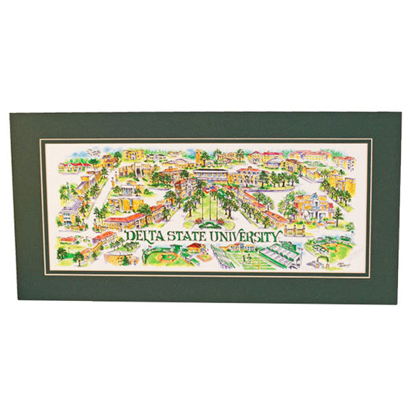 Delta State Print - TheMississippiGiftCompany.com