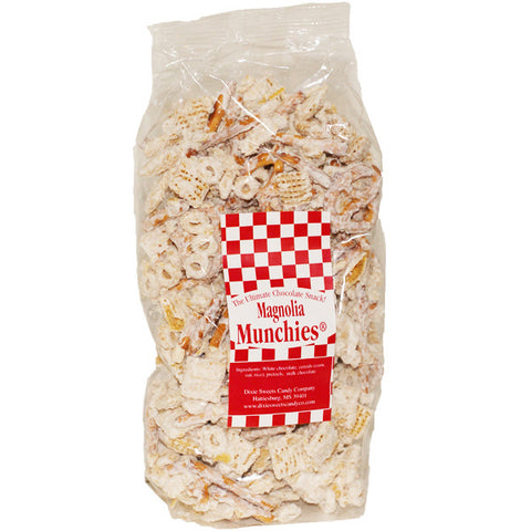 Magnolia Munchies :  White Chocolate Snack Mix- 8oz - TheMississippiGiftCompany.com