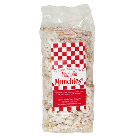 Magnolia Munchies: White Chocolate Snack Mix- 4 oz - TheMississippiGiftCompany.com