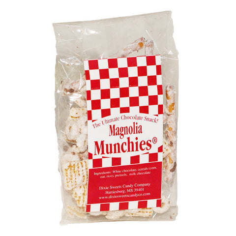 Magnolia Munchies: White Chocolate Snack Mix- 1.5 oz - TheMississippiGiftCompany.com
