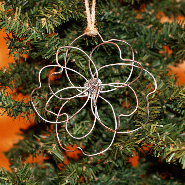 Magnolia Wire Ornament - TheMississippiGiftCompany.com