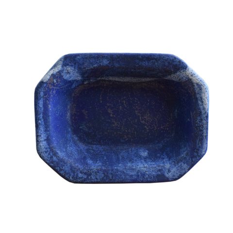 Medium Rectangle Bowl Blue - TheMississippiGiftCompany.com