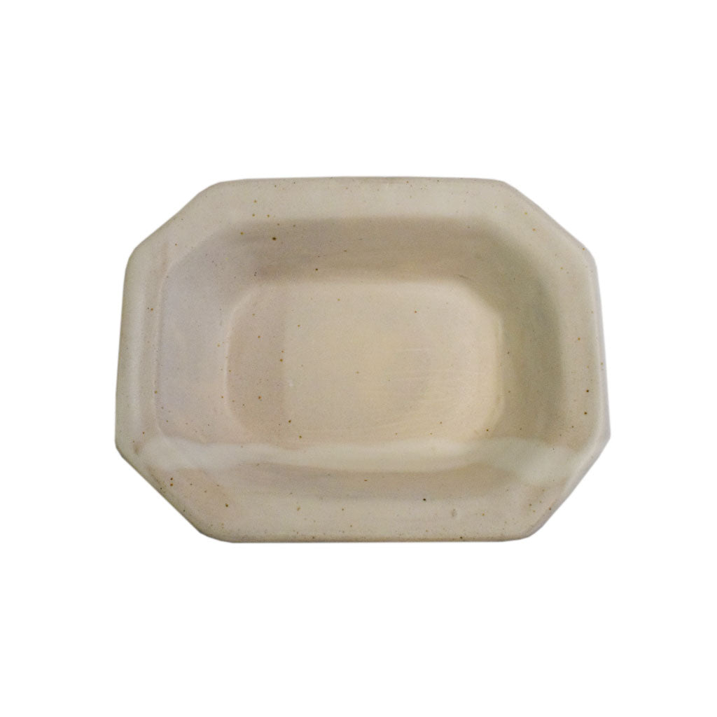 Medium Rectangle Bowl White