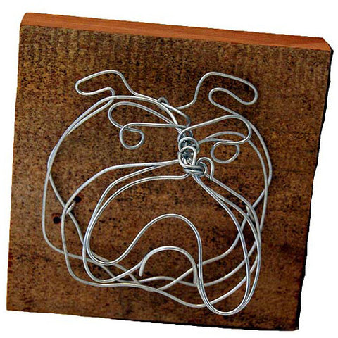 Wire Mini Bulldog - TheMississippiGiftCompany.com