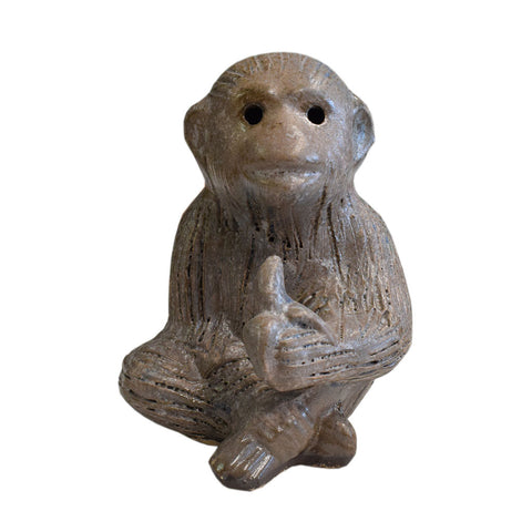 Monkey With Banana Nutmeg - TheMississippiGiftCompany.com