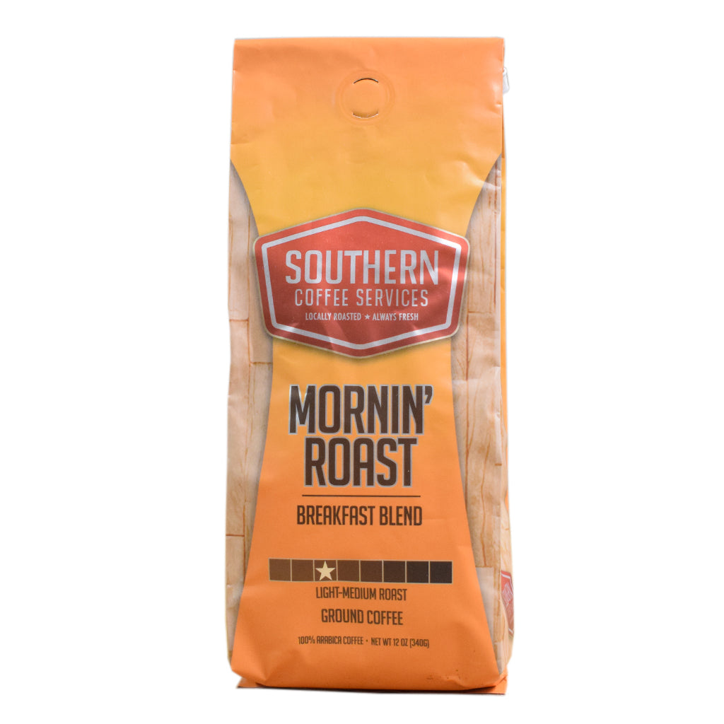Mornin' Roast Breakfast Blend Coffee 12oz - TheMississippiGiftCompany.com