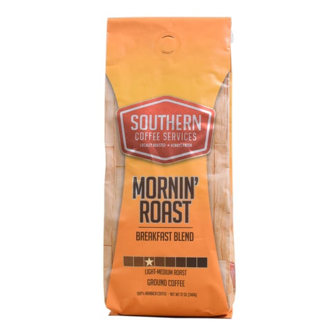 Mornin' Roast Breakfast Blend Coffee 12oz