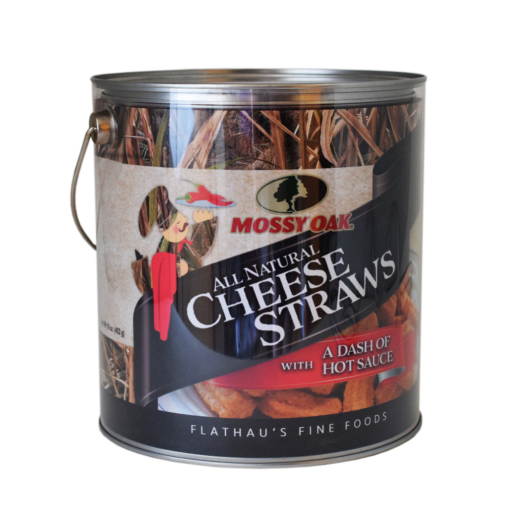Mossy Oak All Natural Cheese Straws 16oz. - TheMississippiGiftCompany.com