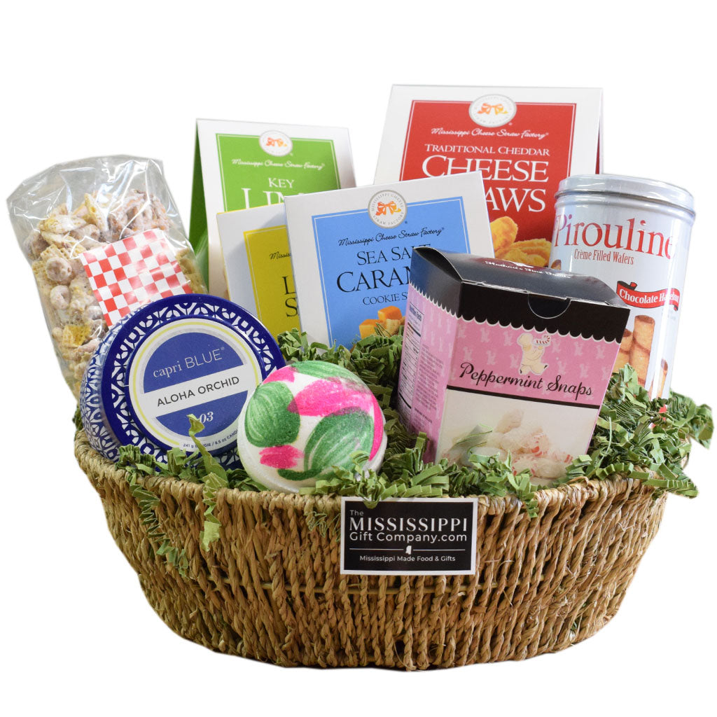 Mother's Day Gift Basket - TheMississippiGiftCompany.com