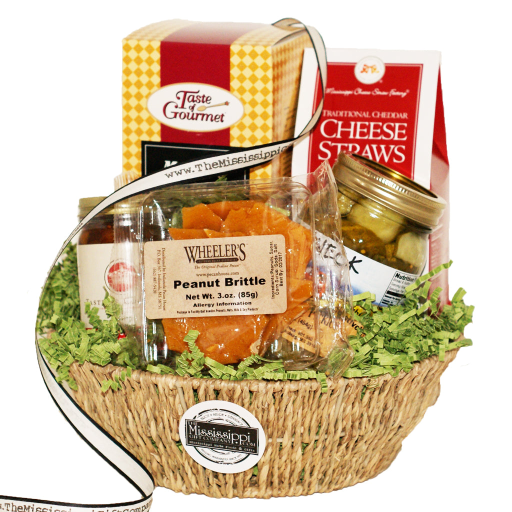 Mississippi Memories Basket Ms Made Foods Gifts And Home Decor