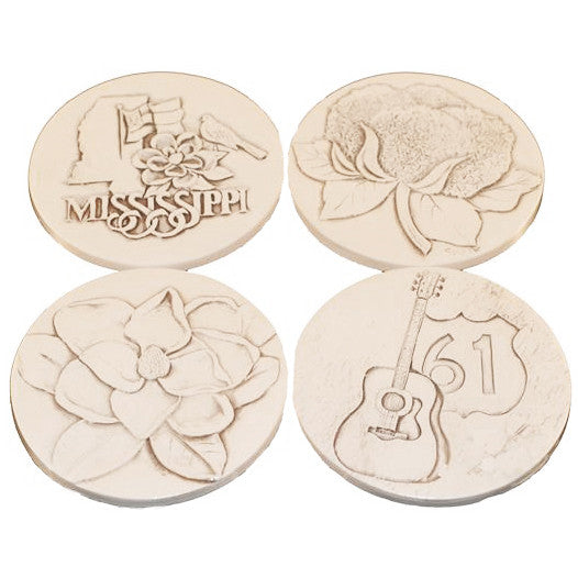 Stone Coasters- Mississippi Designs - TheMississippiGiftCompany.com