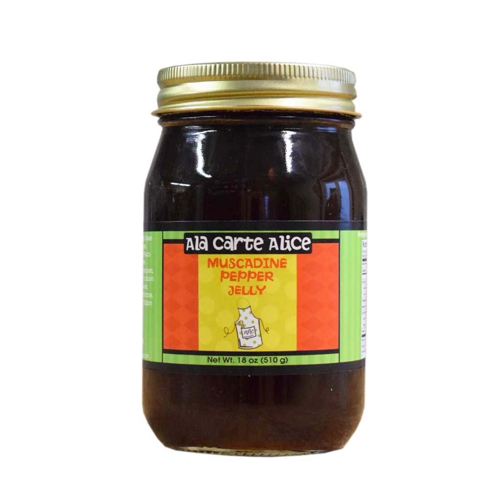 Muscadine Pepper Jelly - TheMississippiGiftCompany.com