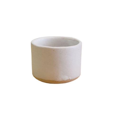 Old Fashioned Punch Cup White