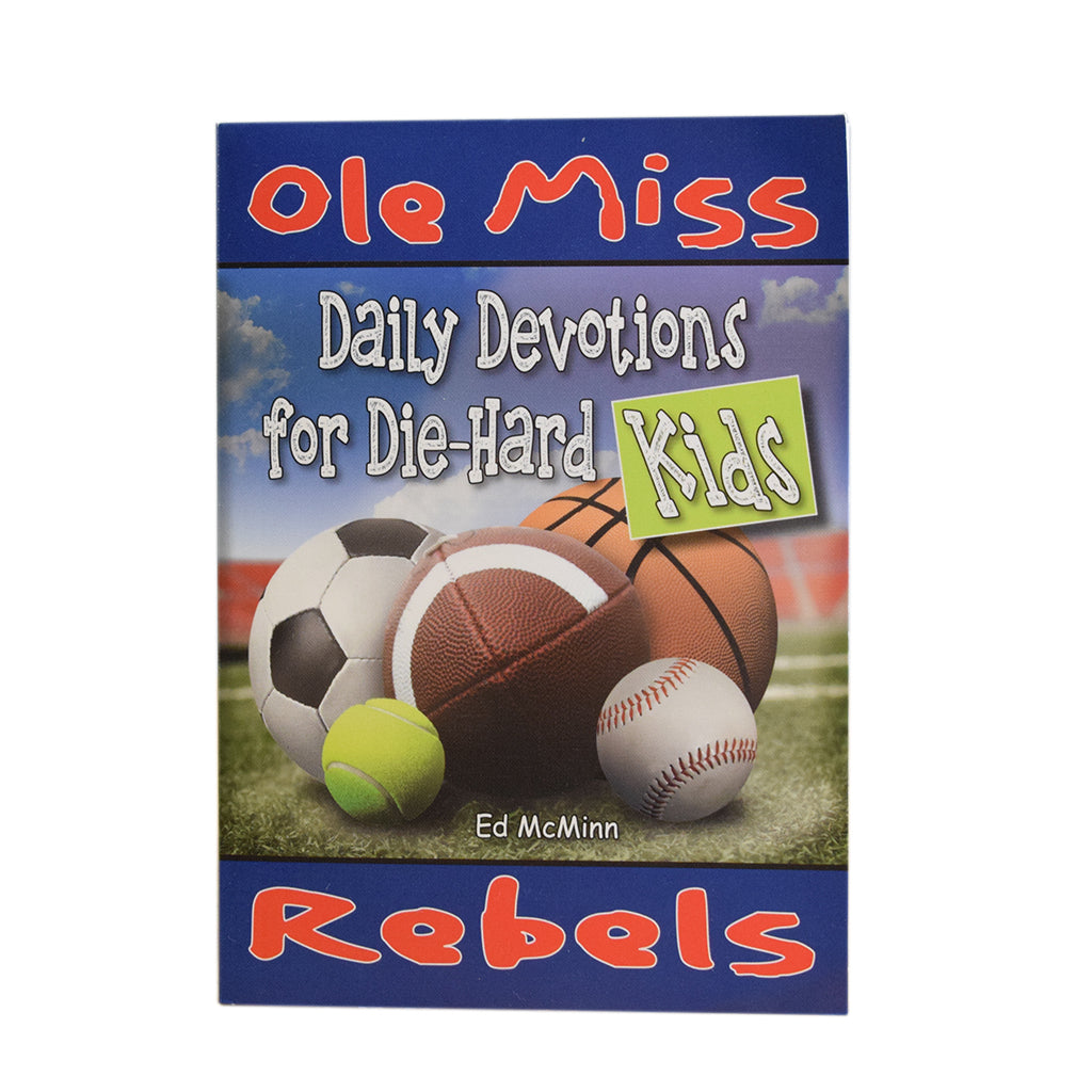 Daily Devotions for Die Hard Kids- Ole Miss - TheMississippiGiftCompany.com