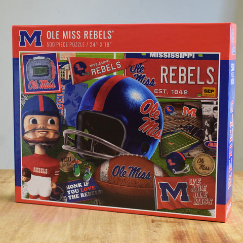 Ole Miss Puzzle - TheMississippiGiftCompany.com