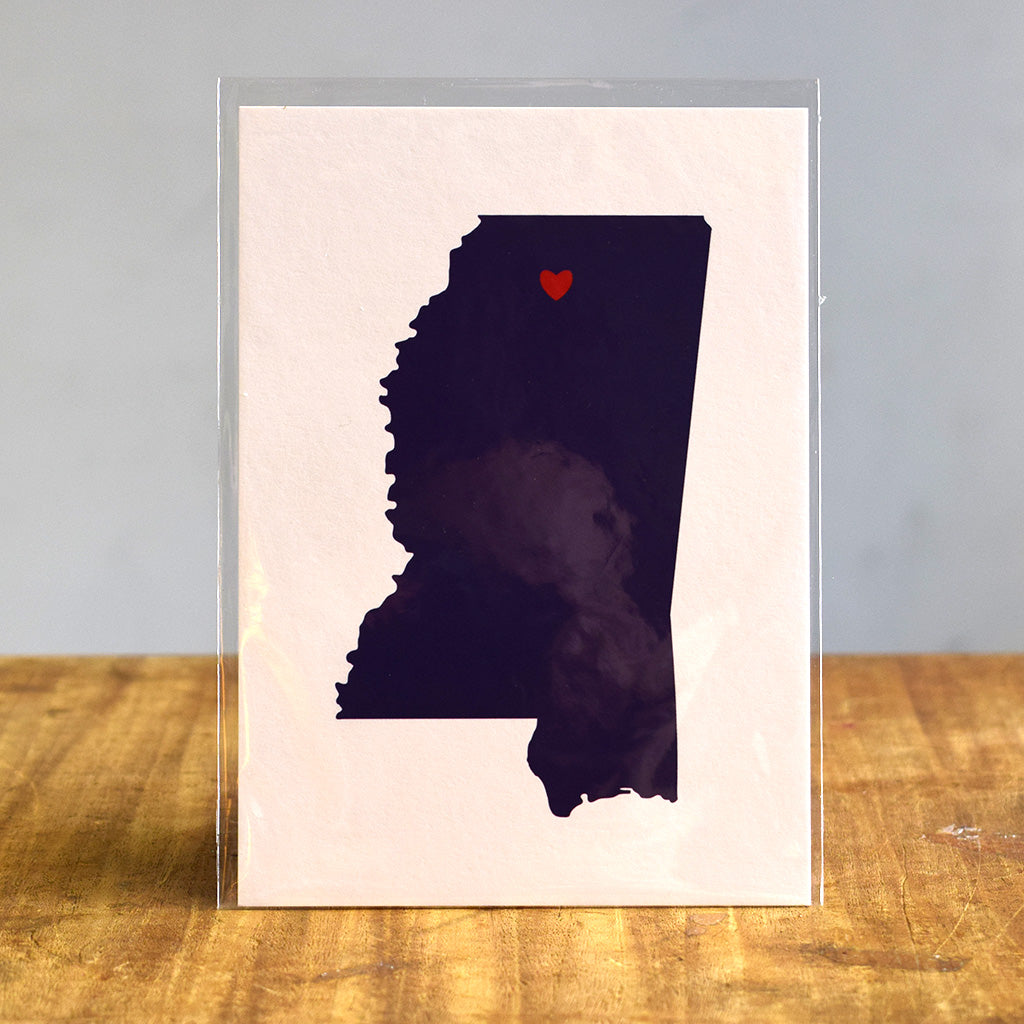 Oxford Love Print - TheMississippiGiftCompany.com