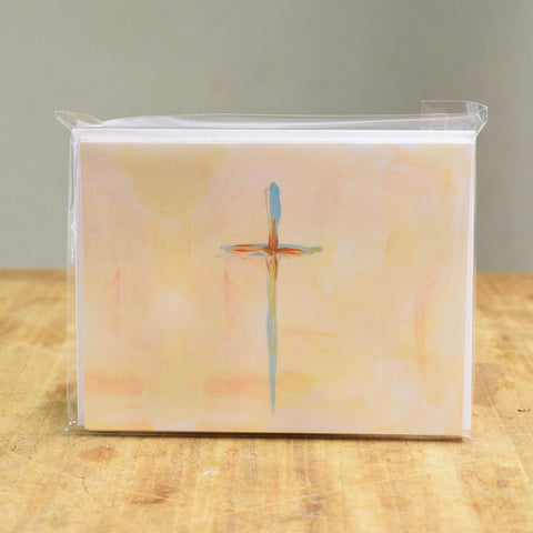 Blue Cross Notecard Set - TheMississippiGiftCompany.com