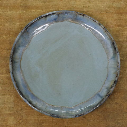 Townhouse Peaceful Round Dinner Plate - TheMississippiGiftCompany.com