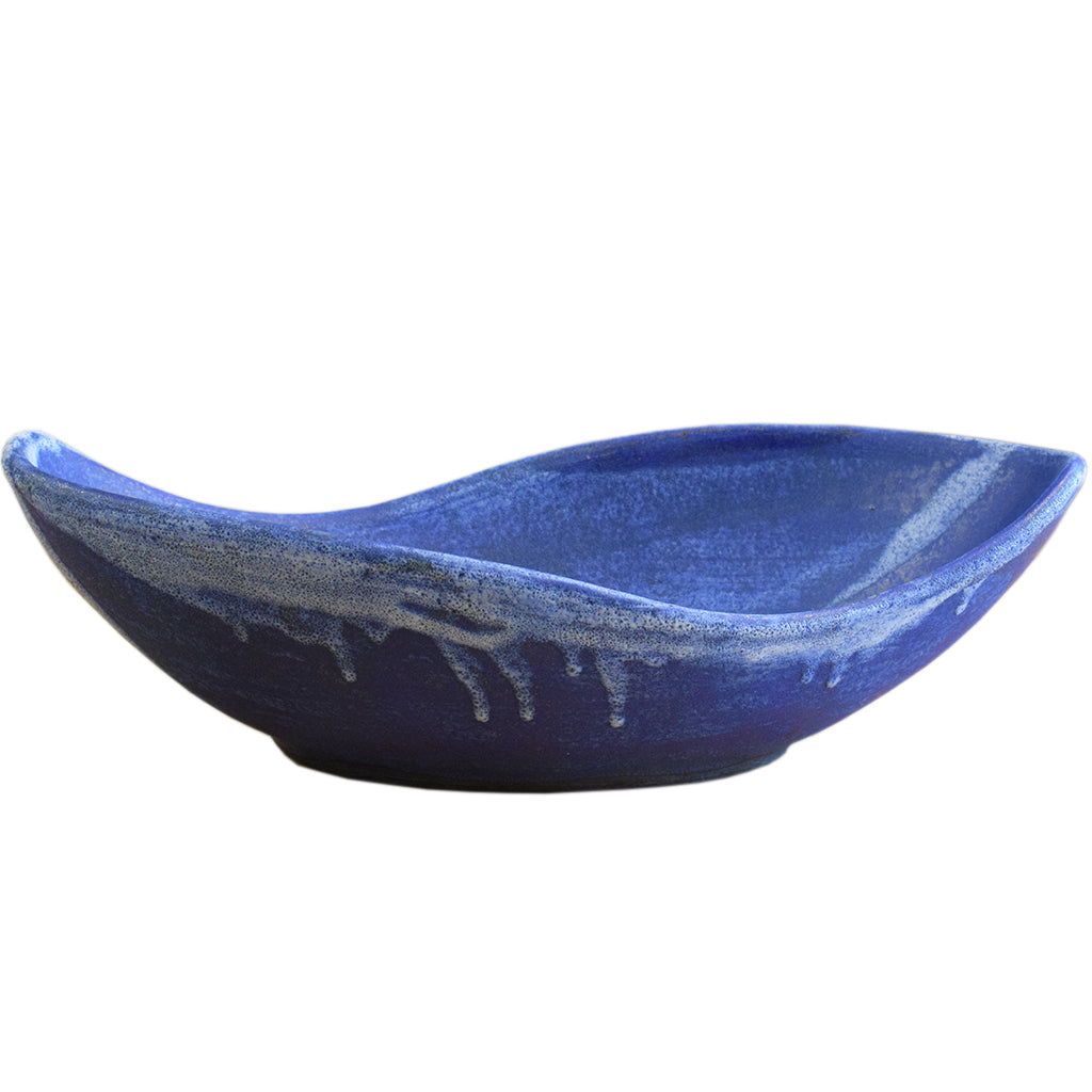 Peanut Bowl Blue - TheMississippiGiftCompany.com