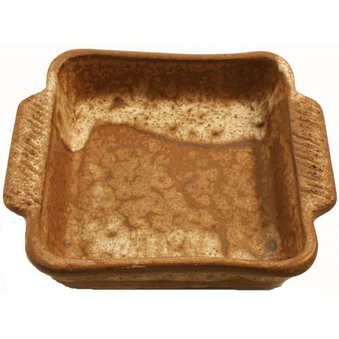 Casserole Dish 7x7 Nutmeg - TheMississippiGiftCompany.com