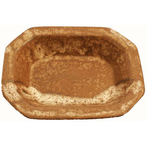Medium Rectangle Bowl Nutmeg - TheMississippiGiftCompany.com