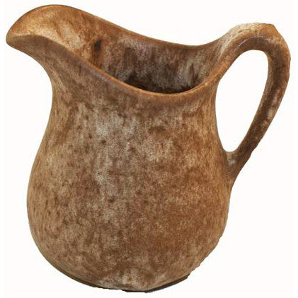 Medium Syrup Pitcher Nutmeg - TheMississippiGiftCompany.com