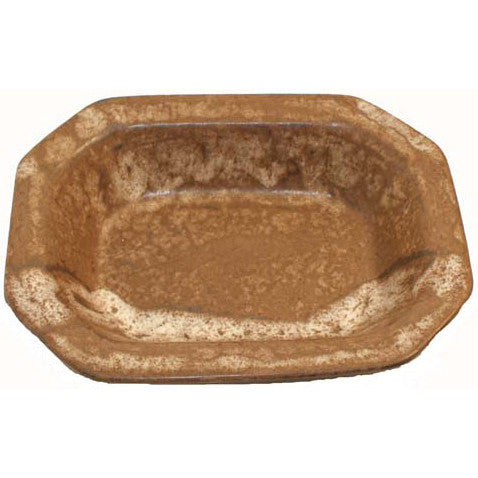 Small Rectangle Bowl Nutmeg - TheMississippiGiftCompany.com